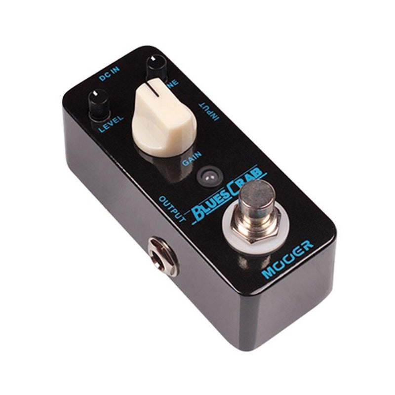 Mooer Mbd1 Blues Crab Blues Drive Pedal - Red One Music