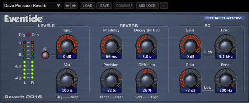 Eventide 2016 Stereo Room Reverb Plug-In (Download)