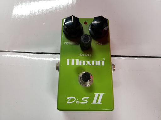 Pédale de Guitare Maxon D&S II Distortion & Sustainer USED - Red One Music
