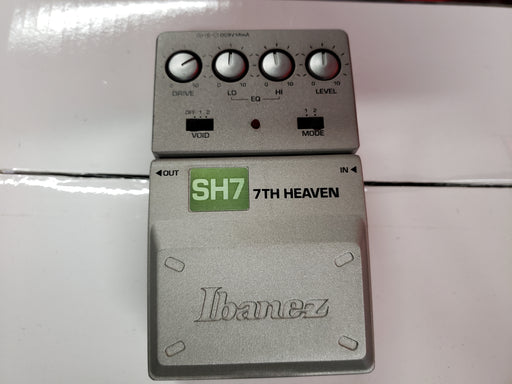 Ibanez SH7 7th Heaven Distortion Guitar USED - Red One Music