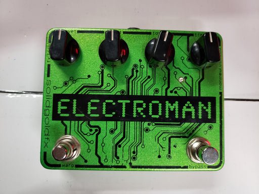 Solidgoldfx Electroman Delay Pedal USED - Red One Music