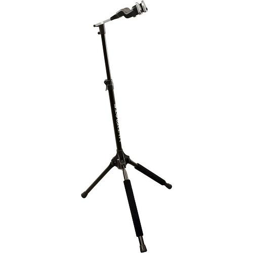 Ultimate Support Gs1000 Pro Genesis Series Guitar Stand With Locking Legs And Self-Closing Yoke Security Gate - Red One Music