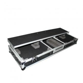 ProX XS-TMC1012WLTFSTND DJ Coffin Case For 10 Or 12 Mixer And 2X 1200 - Red One Music