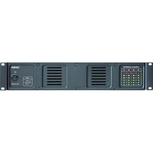 Ashly Tra-4150 Rackmount 4-Channel Power Amplifier With 70V100V Transformer - 80 Watts Per Channel At 8 Ohms
