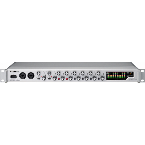 Tascam Series 8p Dyna 8-Channel Mic Preamp With Analogue Compressor