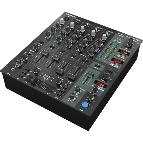 Behringer DJX750 Dj Mixer Professional 5-Channel Dj Mixer - Red One Music