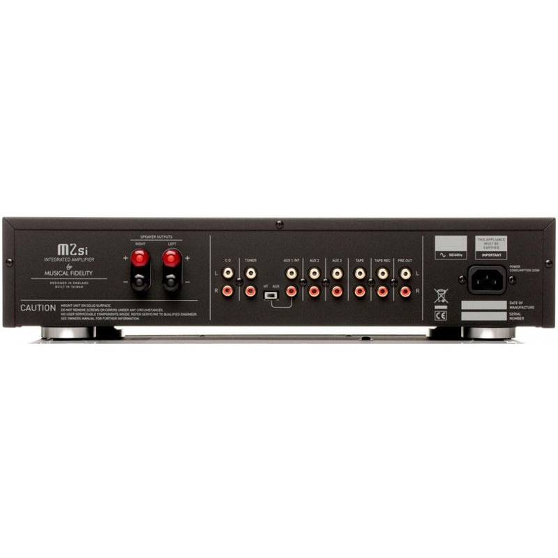 Musical Fidelity M2SI Integrated Amplifier - Black
