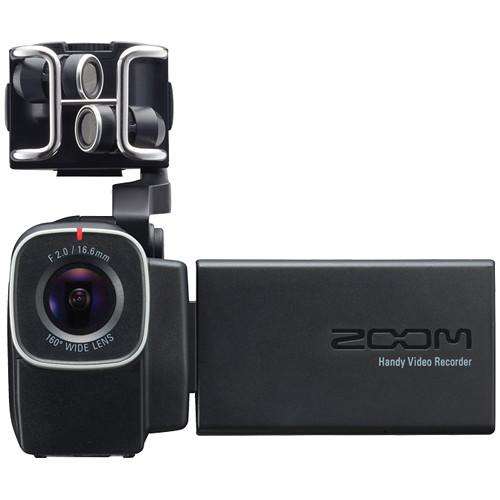 Zoom Q8 Q8 Handy Video Recorder - Red One Music