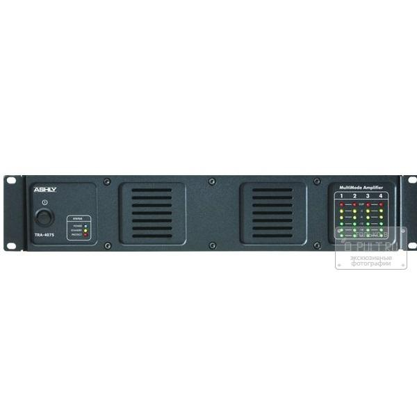 Ashly Sra-4075 Rackmount 4-Channel Power Amplifier - 40 Watts Per Channel At 8 Ohms