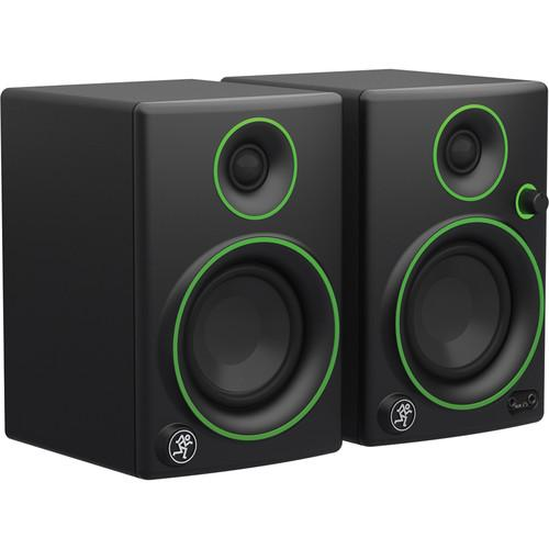 MACKIE CR3 3 WOOFER CREATIVE REFERENCE MULTIMEDIA MONITORS PAIR
