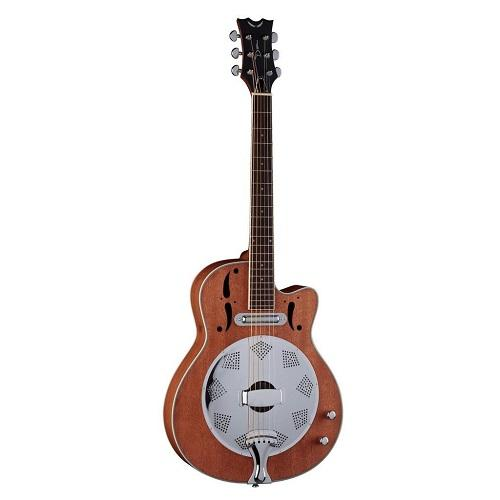 Dean Rce Nm Natural Mahogany Acousticelectric Resonator