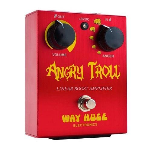 Way Huge Whe101 Angry Troll Angry Troll With 2 Patch Cables And 2 10 Ft Instrument Cables - Red One Music