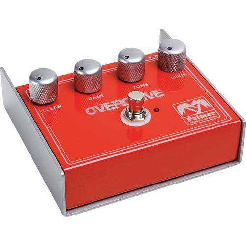 Palmer Peod  Palmer Peod Overdrive Distortion Effect Pedal - Red One Music