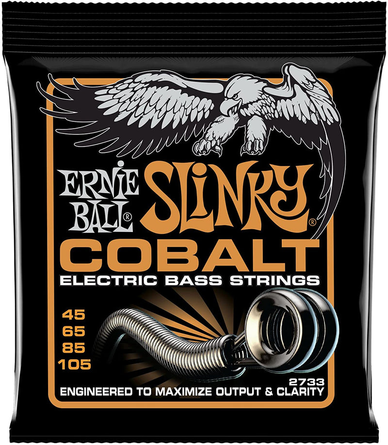 Ernie Ball 2733EB Cobalt Hybrid 45-105 Bass Strings