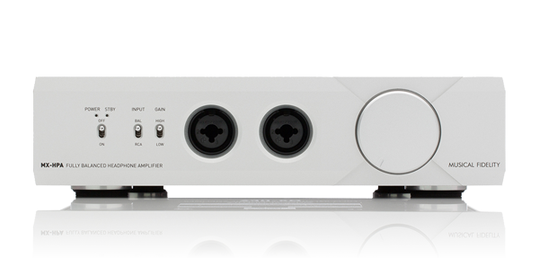 Musical Fidelity MX-HPA Headphone Amplifier - Silver