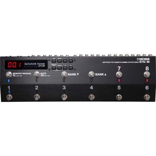 BOSS ES-8 GUITAR EFFECTS SWITCHING SYSTEM