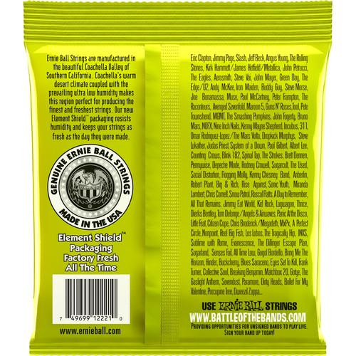 Ernie Ball Nickl Reglr Slinky  2221Eb Regular Slinky Nickel Wound Electric Guitar Strings - Red One Music