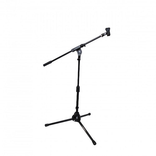 ProX-T-MIC05 Short Tripod Microphone Stand W/Boom - Red One Music