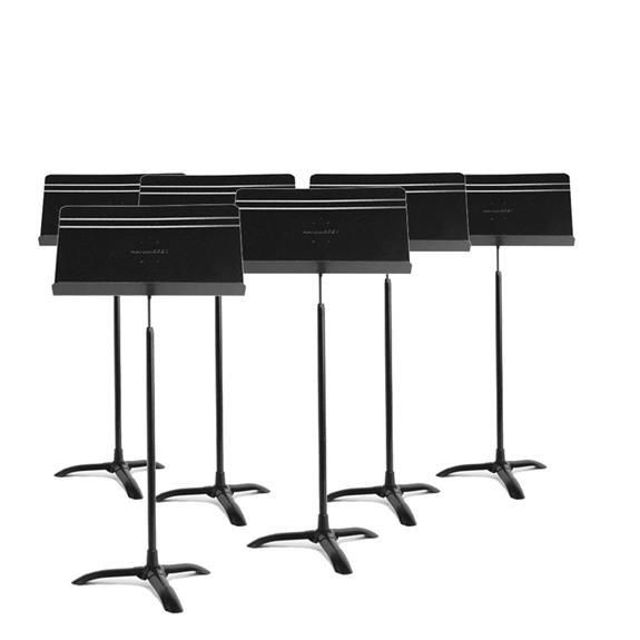 Manhasset Ma4806 Symphony Stand Symphony Stand - 6-Pack - Red One Music