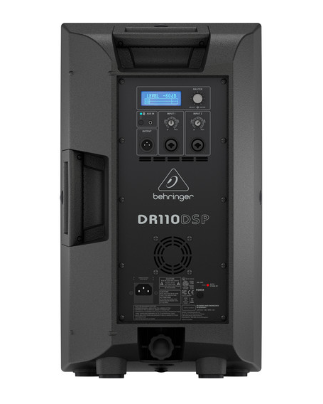 "Behringer DR110DSP Active 1000W 10"" Speaker System - Red One Music"