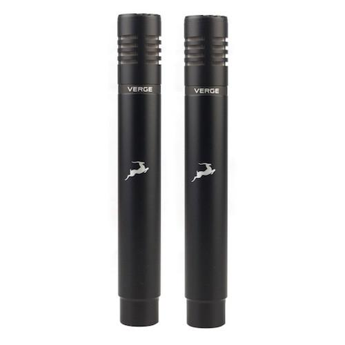 Microphones Antelope 2 X Verge Bundle - Red One Music