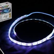 ProX X-S36RGBKIT Xstatic Rgb Led Strip Kit 24 Ampère Télécommande Alimentation Inclus