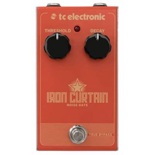 TC Electronic Iron Curtain Noise Gate - Red One Music