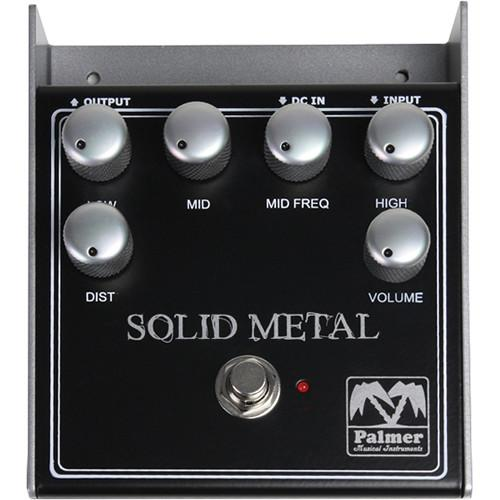 Palmer Pesm Palmer Pesm Solid Metal Distortion Pedal - Red One Music