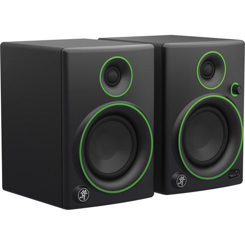 Mackie Cr4 4 Woofer Creative Reference Multimedia Monitors Pair