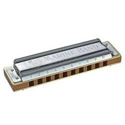 Hohner 1896Bx-G# Marine Band Harmonica Boxed Key Of G# - Red One Music