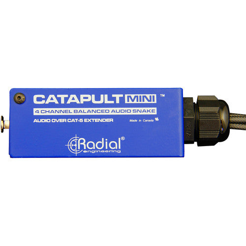Radial Engineering CATAPULT MINI RX 4-Channel XLRM / Cat 5 Audio Snake