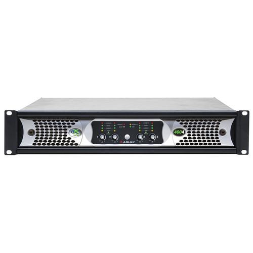 ASHLY NX4004 NX SERIES 4-CHANNEL 400W POWER AMPLIFIER