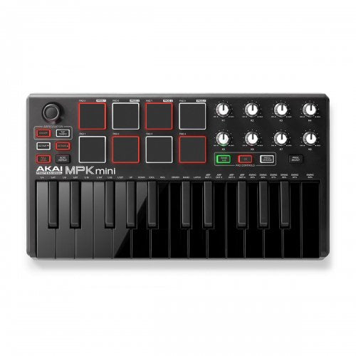 Akai Professional MPK Mini mkII 25-key Keyboard Controller - Red One Music