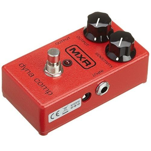 Mxr M102 Dynamic Comp Dyna Comp Compressor Pedal - Red One Music