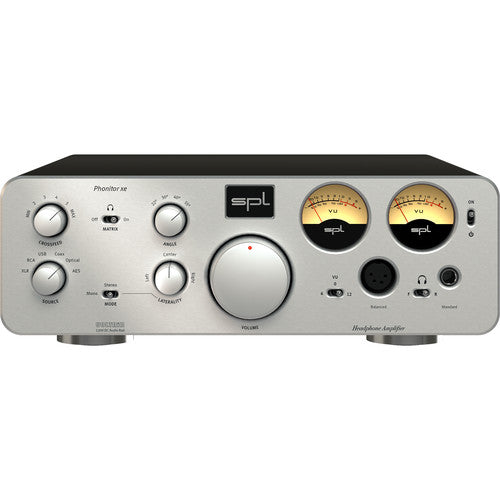 SPL PHONITOR XE Headphone Amplifier & DAC - Silver