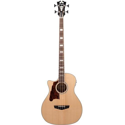 D'Angelico Dapb700Naccpl Left-Handed Natural Acoustic Bass