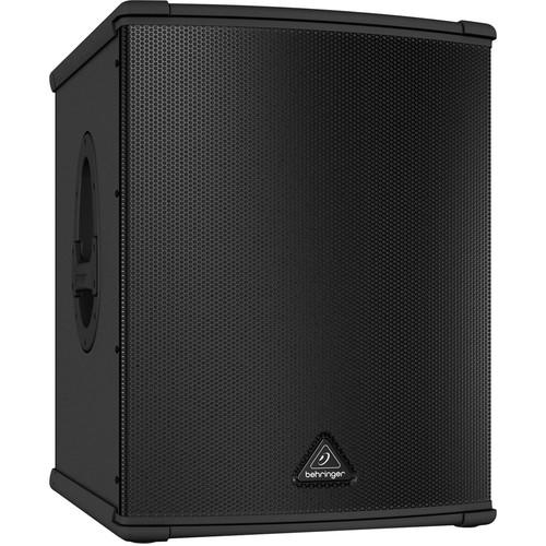 Behringer B1500Xp Active Speaker Subwoofer actif 3000W avec 15 haut-parleurs Turbosound - Red One Music