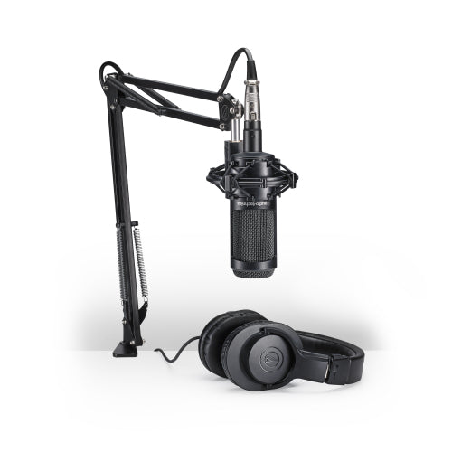 Audio Technica AT2035-PK Streaming/Podcasting Pack - Red One Music