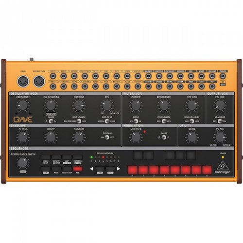 Behringer Crave Analog Synthesizer With Sequencer