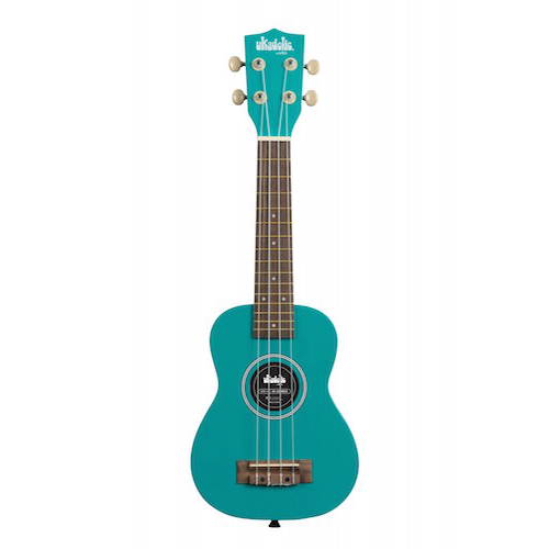 Kala Lochness Soprano Ukulele - Red One Music