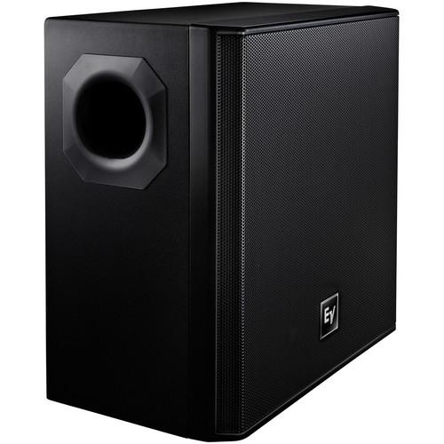ELECTRO VOICE EVID-40S SURFACE MOUNT SUBWOOFER BLACK
