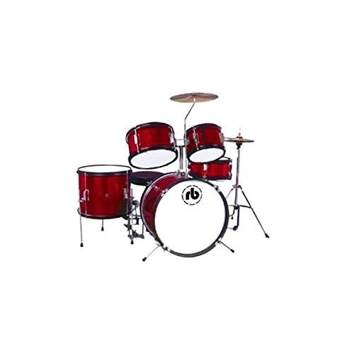 Rb Drums Rb-Jr5-Mwr 5 Piece - Red Wine