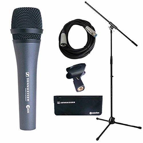 Sennheiser Epack E835 Microphone With 5 Meter Cable With Stand