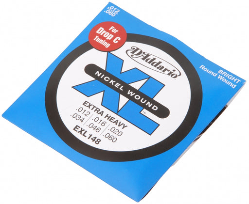Cordes de guitare électrique D'Addario EXL148 Nickel Wound Extra-Heavy 12-60 - Red One Music
