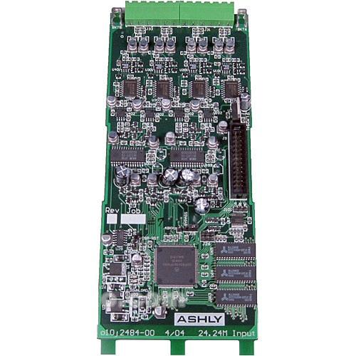 Ashly Ne24.24M Input Card 4-Input Expansion Module For Protea 2424M Matrix Processor