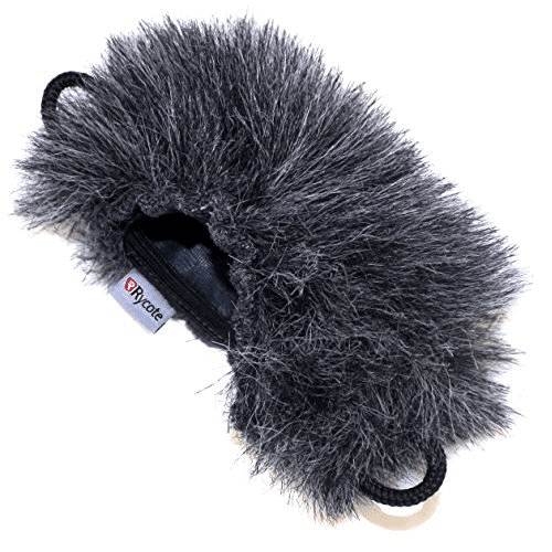 Rycote 055372 Mini Windjammer For Edirol Roland R09 - Red One Music