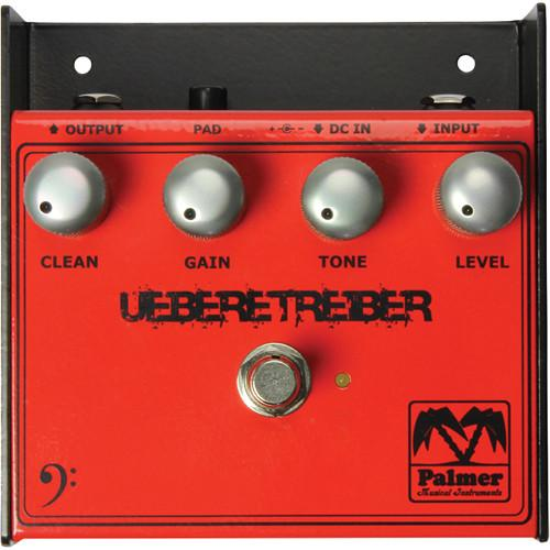 Palmer Pebut Palmer Pebut Uebertreiber Pedal For Bass Guitar - Red One Music