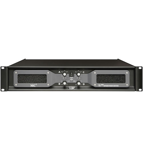 MC2 Audio Ti4-250 Ti-Series Amplifiers Networkable Amplifiers for Installation