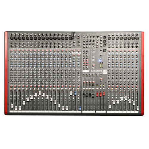 ALLEN  HEATH ZED-428 28-INPUT 4-BUSS RECORDING MIXER WITH USB CONNECTION