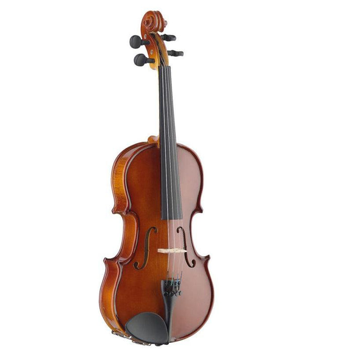 Stagg Vn-14 Ef 1/4 Solid Maple Violin With Ebony Fingerboard And Standard-Shaped Soft Case